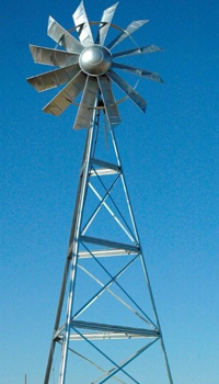 12 FOOT WINDMILL PACKAGE - 12F - 12 FOOT PACKAGE 12 FOOT WINDMILL PACKAGE