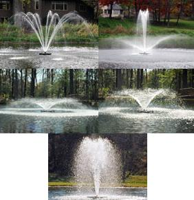 KASCO 3400/JF LAKE FOUNTAIN -  3/4HP - 120V F3400/JF - KASCO 120 VOLT UNITS